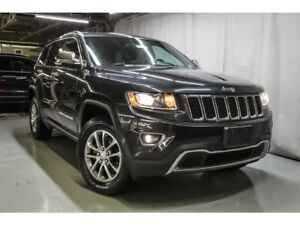 2016 Jeep Grand Cherokee Limited 4x4  CUIR, TOIT