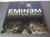 EMINEM - CURTAIN CALLS THE HITS - DOUBLE VINYL ALBUM - BRAND NEW
