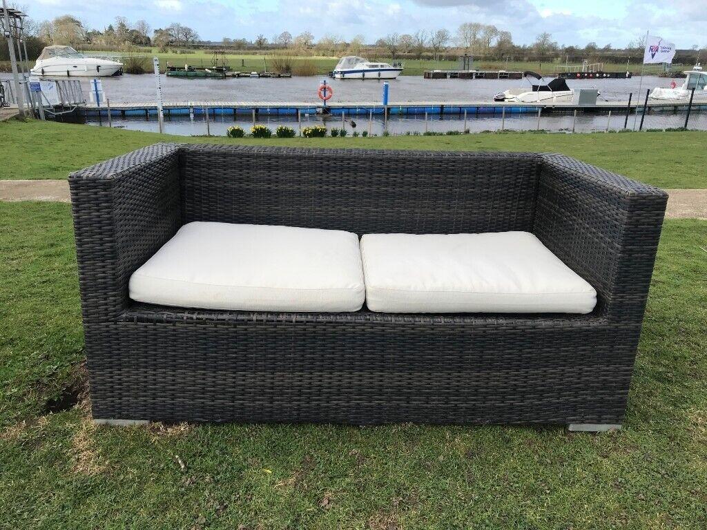 Nova rattan garden furniture double in york north yorkshire gumtree