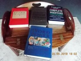 x readers digest reference books in good condition