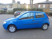 2005 FIAT PUNTO 1.25 ACTIVE 3 DOOR . ONLY 54000 MILES FROM NEW
