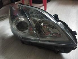 Toyota Prius 2012 driver side headlight assembly