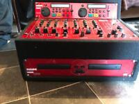 Kam twin CD player with kam mixer