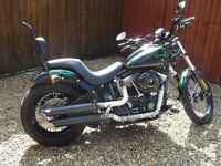 Harley Davidson Softail FXS Blackline , Fatboy Rear, £6k of upgrades!