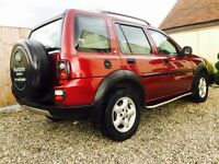 LAND ROVER FREELANDER, JUST SERVICED, FULL SERVICE HISTORY, HEATED LEATHER , CRUISE CONTROL, AIRCON