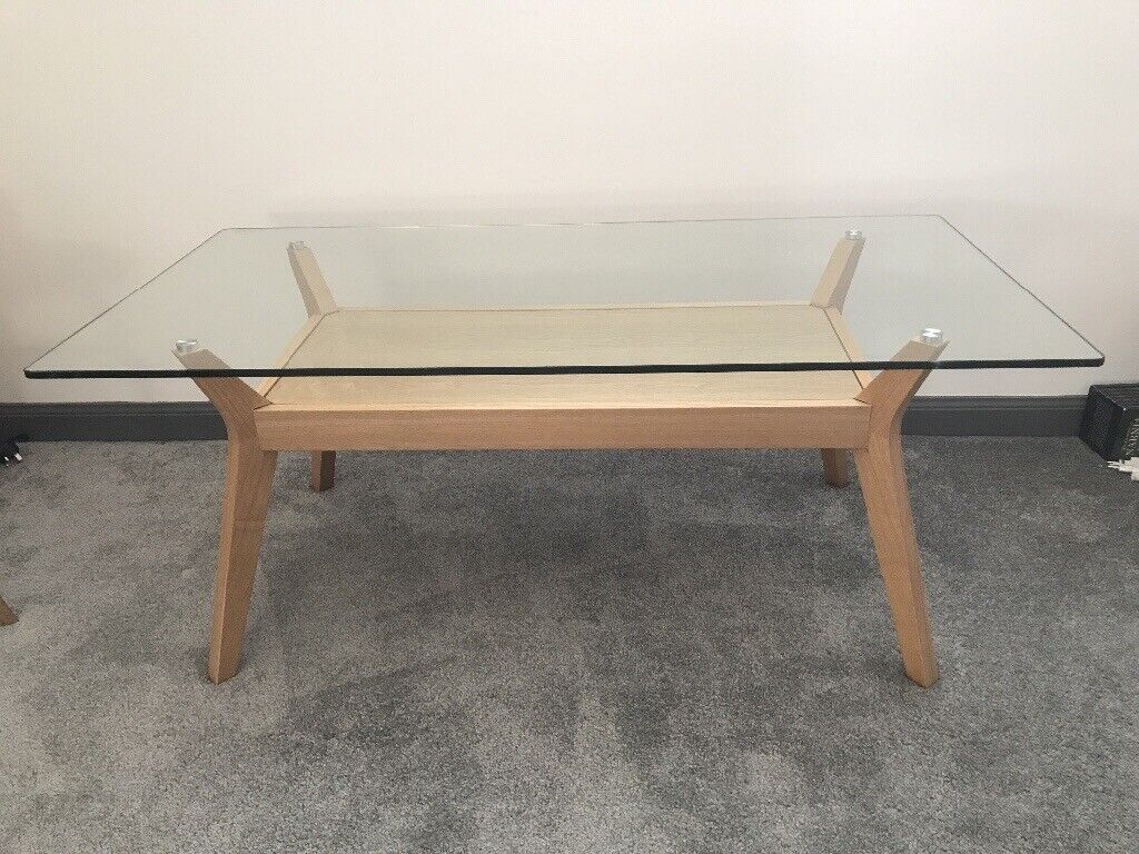 John Lewis Glass Coffee Table In Alness Highland Gumtree