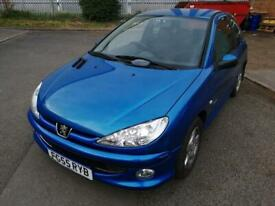 image for 2005 Peugeot 206 1.4 Sport, NEW CLUTCH, ONLY 81K MILES, DRIVES VERY WELL, GOOD RUNNER