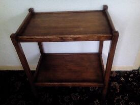 Vintage Wooden Hostess Trolley