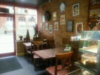"Restaurant cafe business takeaway "" chai khana"" for sale bolton"