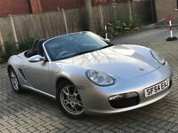 2005 PORSCHE BOXSTER 2.7 ROADSTER CONVERTIBLE PETROL MANUAL GREAT DRIVE SPORTS N CARRERA CAYMAN 645