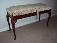 Antique Duet Piano Stool