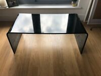 Black Acrylic/Perpsex Coffee Table