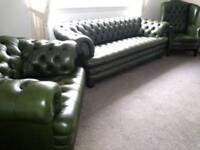 Top quality and condition chesterfield full suite