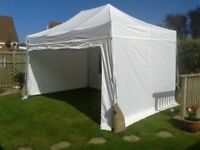 3m x 4.5m Gala Shade Pro 50 Gazebo (White)