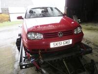 Golf GTI, 115 BHP, Spares or repair