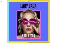 6 Lady Gaga tickets manchester,seated