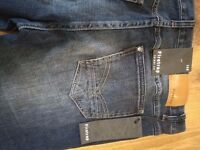 **Quick Sale ** Firetrap Jeans brand new with tags and receipt x 2 pairs 36 x 32 skinny stretch