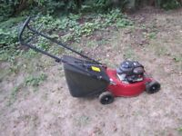 Mountfield petrol lawnmower - Briggs and Stratton engine