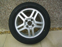 """15"""" ALLOY WHEEL AND TYRE FOR FORD FOCUS."""