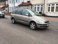 Lovely 2003 Ford Galaxy Ghia 1.9 Diesel Automatic, 1 Yrs MOT, 122k Miles Only, 3 Owners, 3 Keys