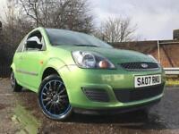 Ford Fiesta 1.2 Petrol 07 Full Years Mot No Advisorys Low Mileage Full Service History Cheap Car!!!