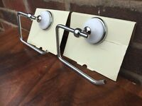 Job Lot Of 100 Toilet Roll Holders - NEW - RRP £12 - Victorian Style Toilet Roll Holders - Must Go
