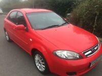05 DAEWOO LACETTI 1.6 LITRE PETROL 5 DOOR HATCHBACK LOW MILEAGE 75732 MOT 29/07/18 NICE FAMILY CAR