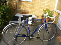 "MANS DAWES 21"" FRAME ROAD BIKE IN GREAT WORKING CONDITION"