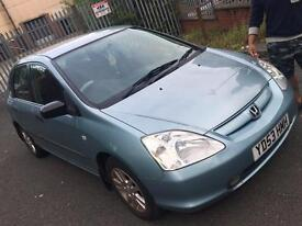 ***Honda Civic 2003 1.6 (82K low Mileage) HPI clear***