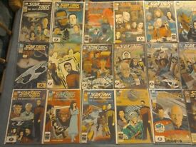 STAR TREK THE NEXT GENERATION DC COMICS JOBLOT VARIOUS ISSUES SPECIALS AND ANNUALS 89-94