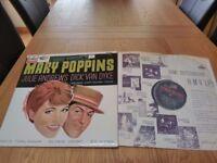 Walt Disney's Mary Poppins vinyl lp