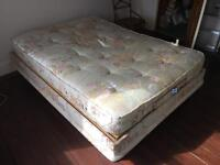 Fully adjustable double bed.
