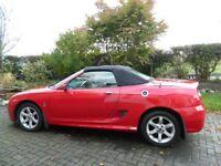 2003 MG TF 1800cc Solar red