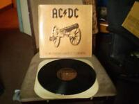 33 tour ac/dc (for those about to rock) 1981 (presque neuf)
