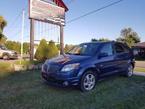 2005 Pontiac VIBE CERTIFIED ETESTED ONLY  $2499+taxes