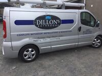 Dillon's Bathrooms - experienced reliable bathroom fitting and supply