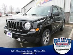 2016 Jeep Patriot HIGH ALTITUDE 4X4 Heated Leather with Sunroof