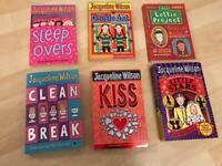 6 Jacqueline Wilson Paperback Books REDUCED