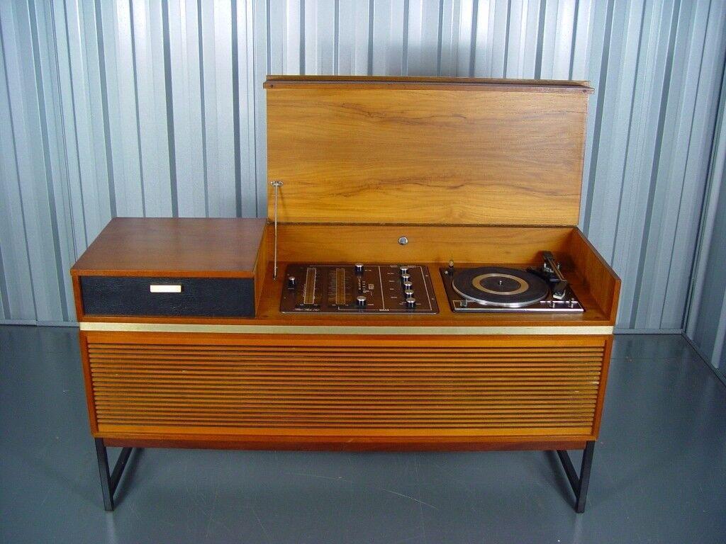 Vintage Decca Radiogram Retro Mid Century Furniture