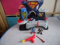 Imaginext Superman Playset - Bargain £15