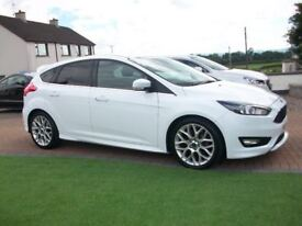 2015 FORD FOCUS ZETEC S**LOW MILES** £20 ROAD TAX STUNNING CAR
