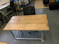 Bespoke scaffold desk