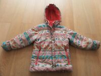 VIRAGE ROSSIGNOL GIRLS WINTER SKI SNOW THERMAL COAT JACKET ANORAK AGE 6+ ROOMY GREAT FOR LAYERING