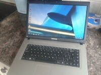 """LAPTOP,SAMSUNG+NEW BATTERY,DUAL CORE,15,6"""",160 GB,2GB RAM,WIFI.WINDOWS 7/OFFICE 2010,CHARGER,CASE"""