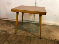 Vintage Mid Century Teak Coffee Table with a Formica Top