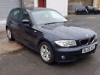 BMW 1 Series 2.0 118d SE 5dr 12 MONTHS MOT 6 MNTHS WARRANTY 2005 (05 reg), Hatchback