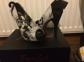 Iron fist bone breaker Heels