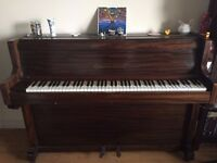 Overstrung upright piano in excellent condition - urgent sale
