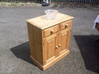 Quality Solid Country Pine Sideboard Storage Cupboard