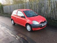 TOYOTA YARIS 1.0 GS LOW MILEAGE ONLY 64k